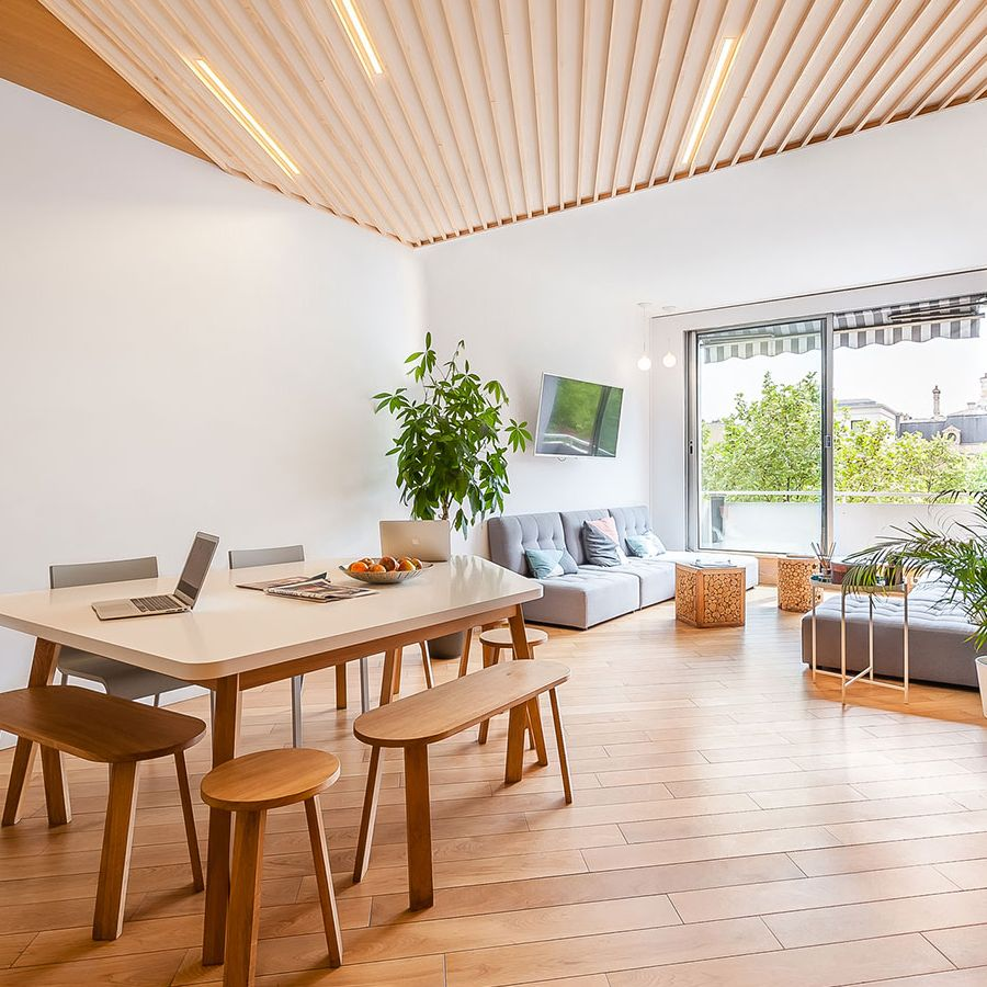espace coworking paris 8 the nest champs elys es accueil. Black Bedroom Furniture Sets. Home Design Ideas